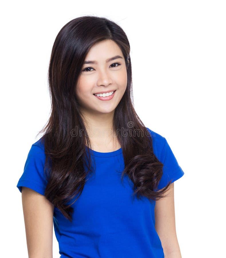 Download Aziatisch vrouwenportret stock afbeelding. Afbeelding bestaande uit vrolijk - 39100385
