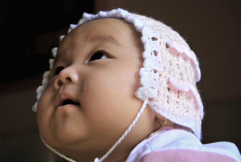 Aziatische Baby royalty-vrije stock foto's