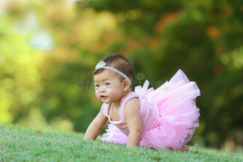 Aziatische baby royalty-vrije stock afbeeldingen