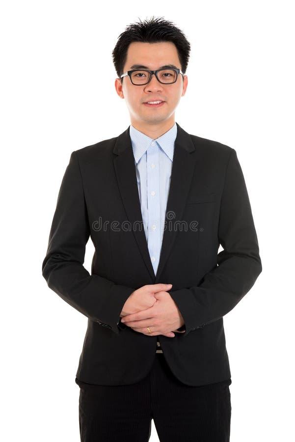 Aziatische bedrijfsmens royalty-vrije stock afbeelding