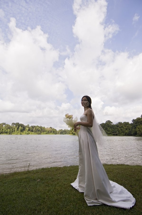 Aziatische Bruid 16 royalty-vrije stock afbeeldingen