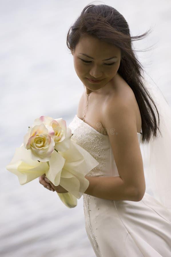 Aziatische Bruid 18 stock fotografie