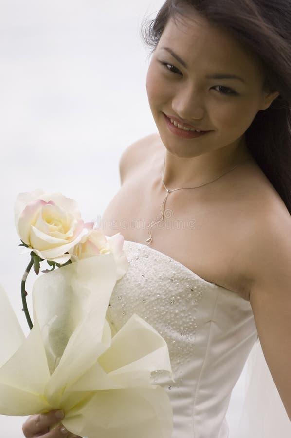 Aziatische Bruid 20 stock afbeeldingen