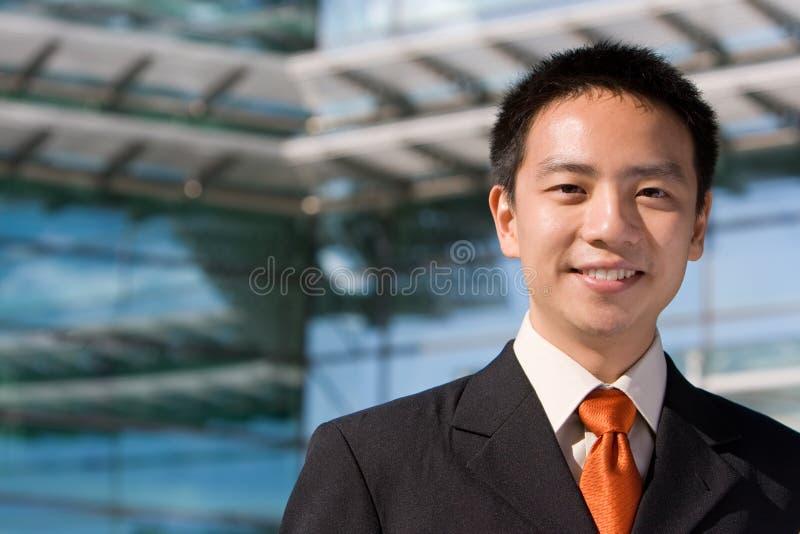 Aziatische Chinese bedrijfsmens royalty-vrije stock foto's