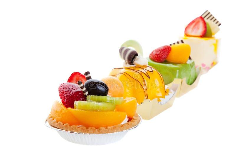 Aziatische Desserts stock afbeelding