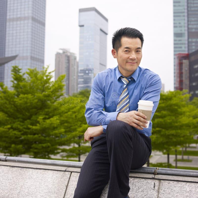 Aziatische directeur stock afbeeldingen