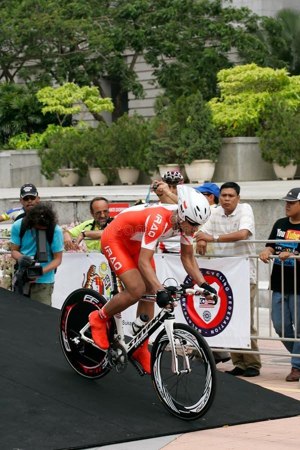 Aziatische het Cirkelen Kampioenschappen 2012 in Putrajaya stock foto's