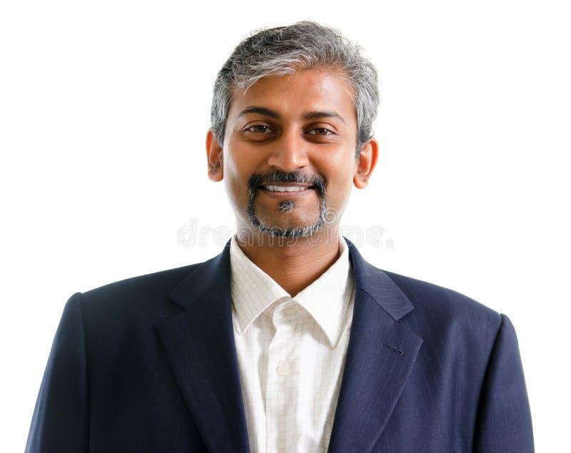 Aziatische Indische zakenman stock fotografie