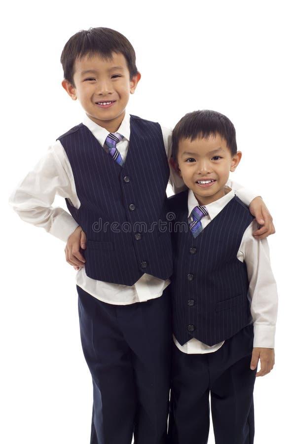 Aziatische Jongens royalty-vrije stock fotografie