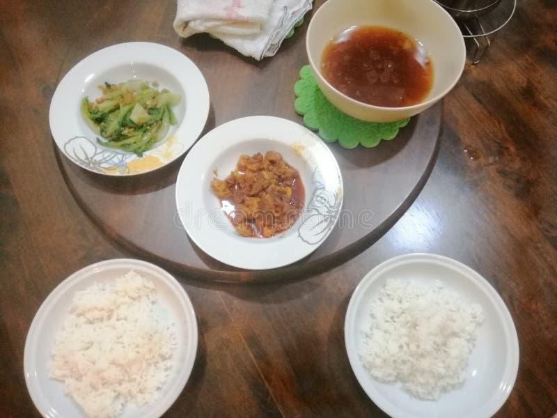 Aziatische keuken stock foto's