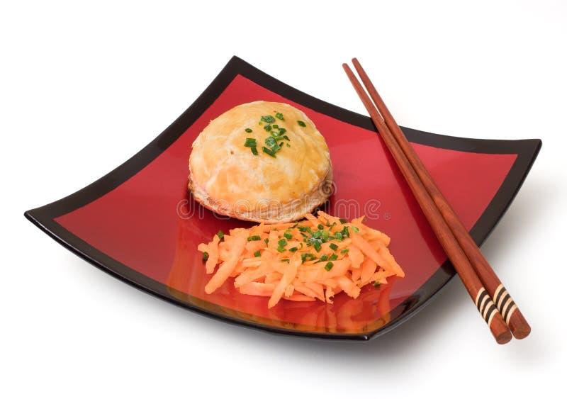 Aziatische maaltijd royalty-vrije stock fotografie
