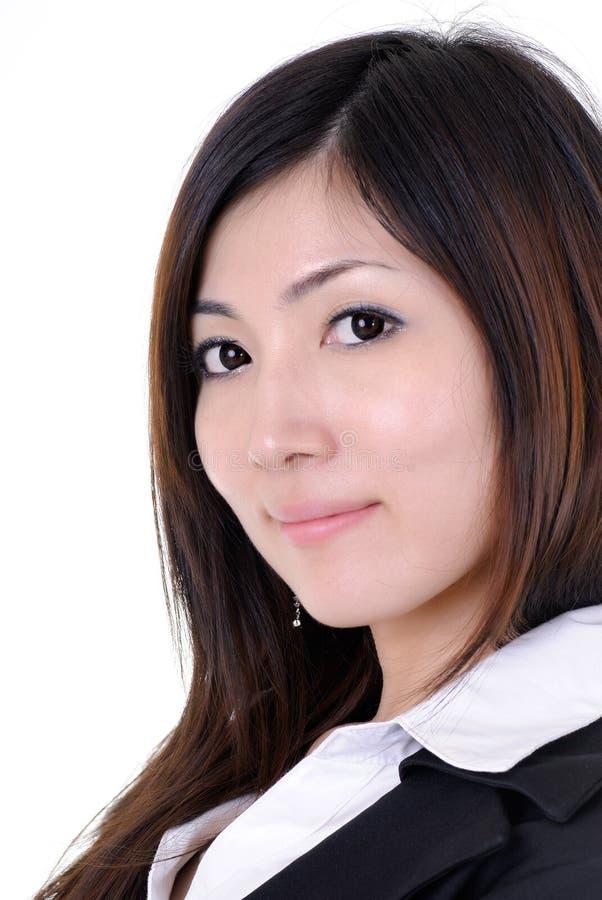 Aziatische manager stock afbeelding