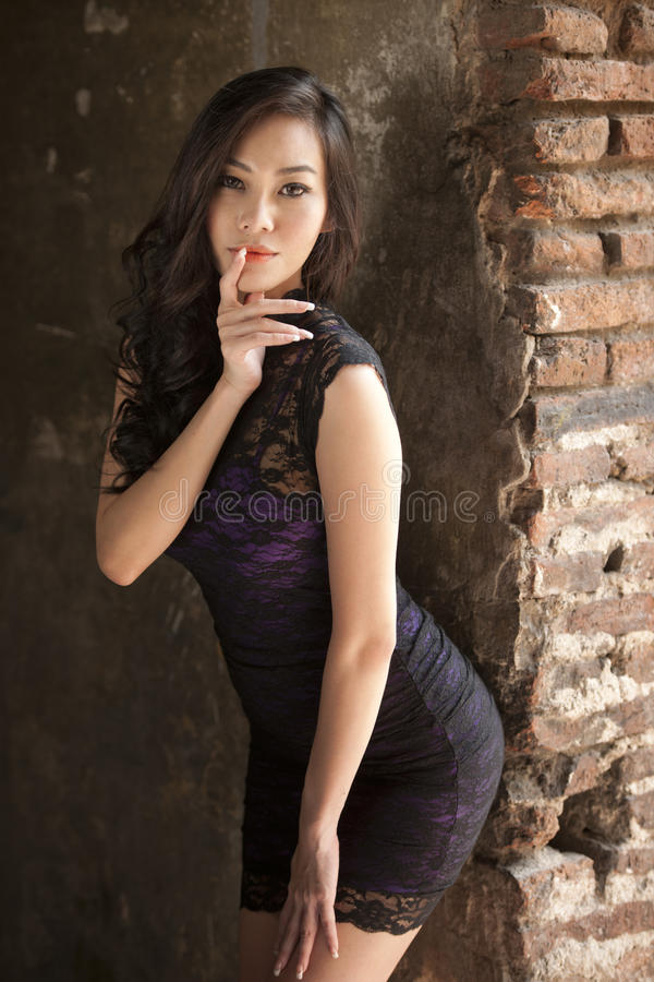 Aziatische Mannequin royalty-vrije stock afbeeldingen
