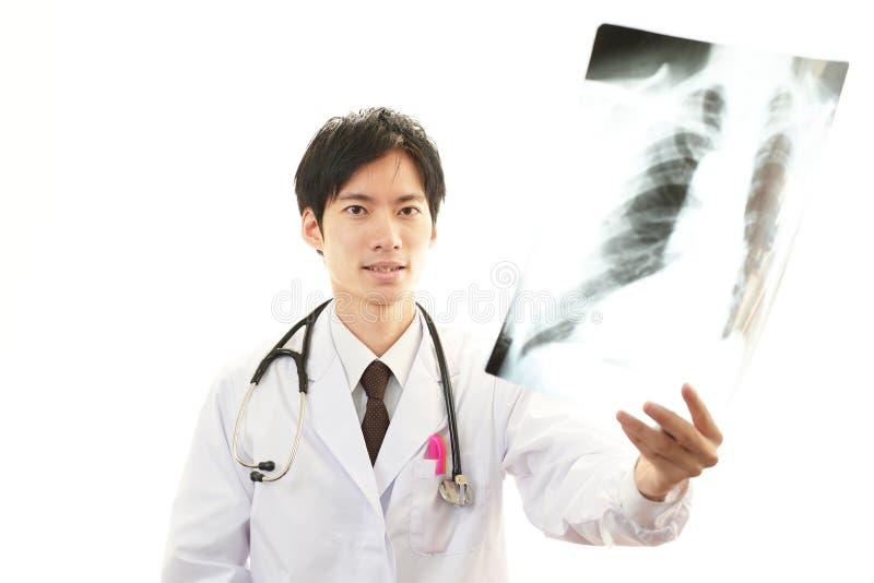 Aziatische medische arts stock fotografie