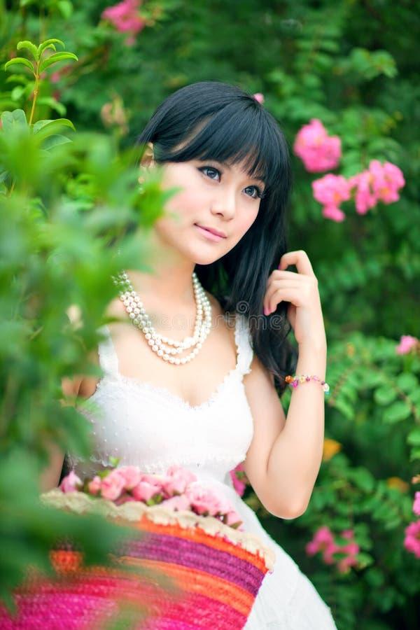Aziatische meisjes stock afbeelding