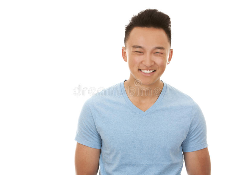Aziatische mens royalty-vrije stock afbeelding