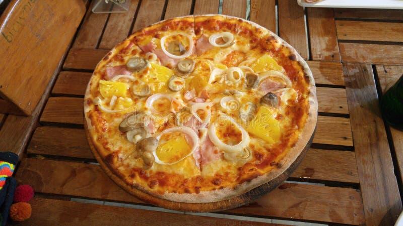 Aziatische Pizza op Phi Phi-eiland royalty-vrije stock fotografie