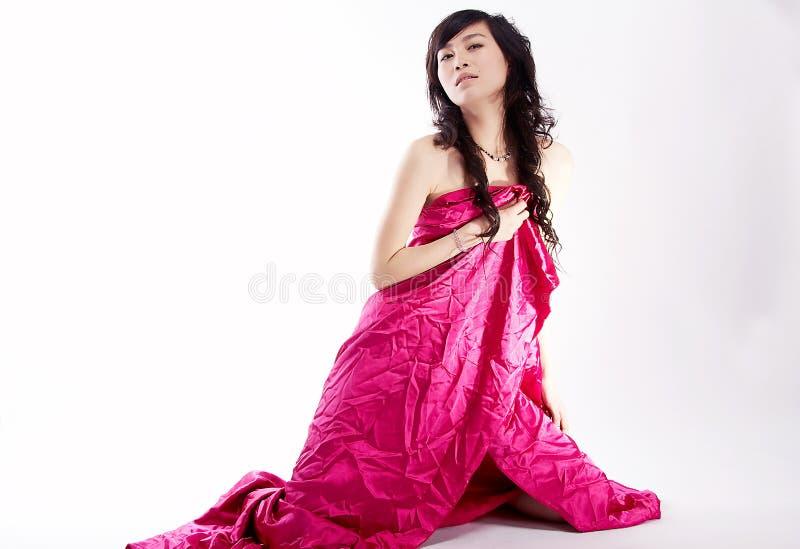 Aziatische sexy schoonheid royalty-vrije stock afbeeldingen