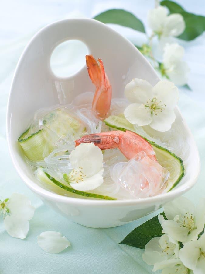 Aziatische soep royalty-vrije stock foto's