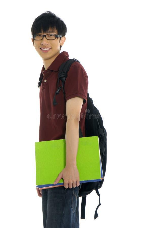 Aziatische student royalty-vrije stock afbeelding