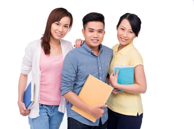 Aziatische studenten stock fotografie