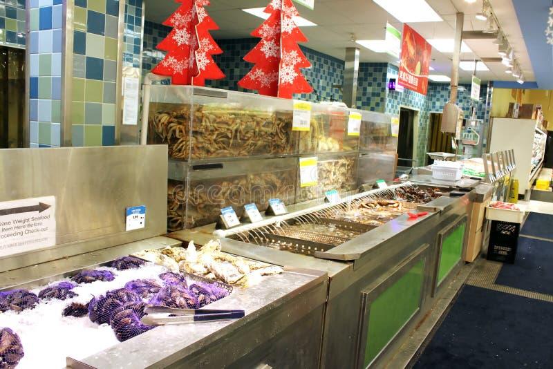 Download Aziatische Supermarktzeevruchten Redactionele Foto - Afbeelding bestaande uit teller, dier: 39118126