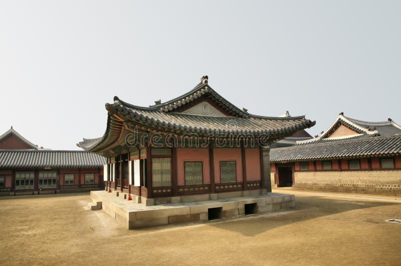 Aziatische Tempel in Centrum stock fotografie