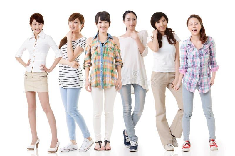 Aziatische vrouwen stock foto