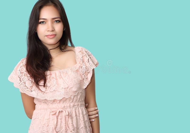 Aziatische vrouwenmanier royalty-vrije stock foto