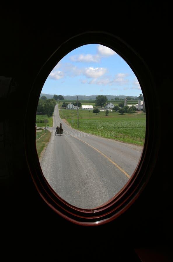 Azienda agricola dei Amish fotografia stock libera da diritti