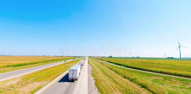 Azienda agricola di vento immagini stock