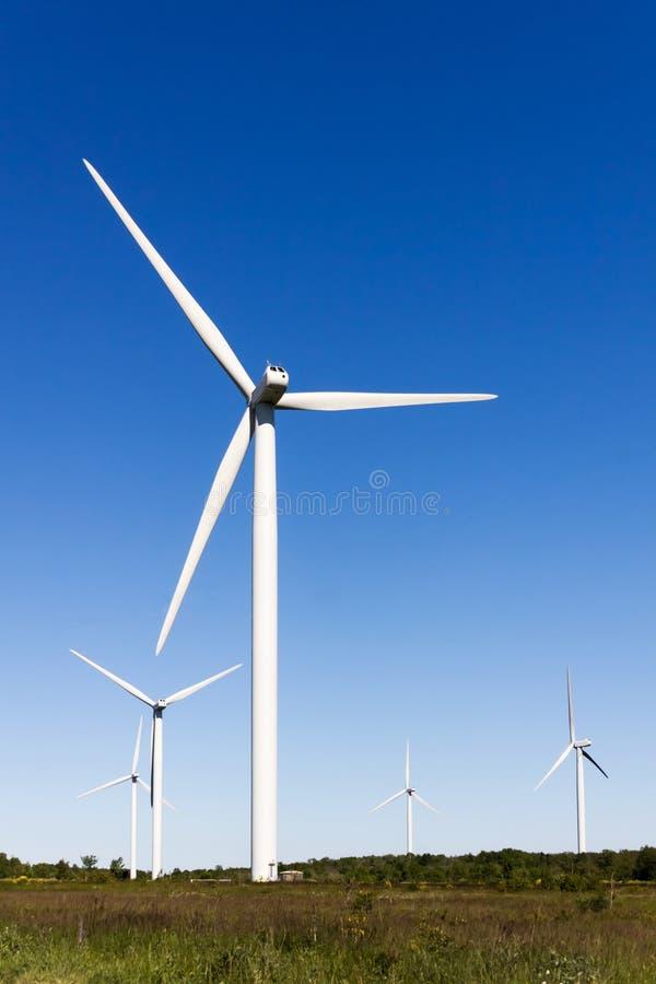 Azienda agricola di vento fotografie stock