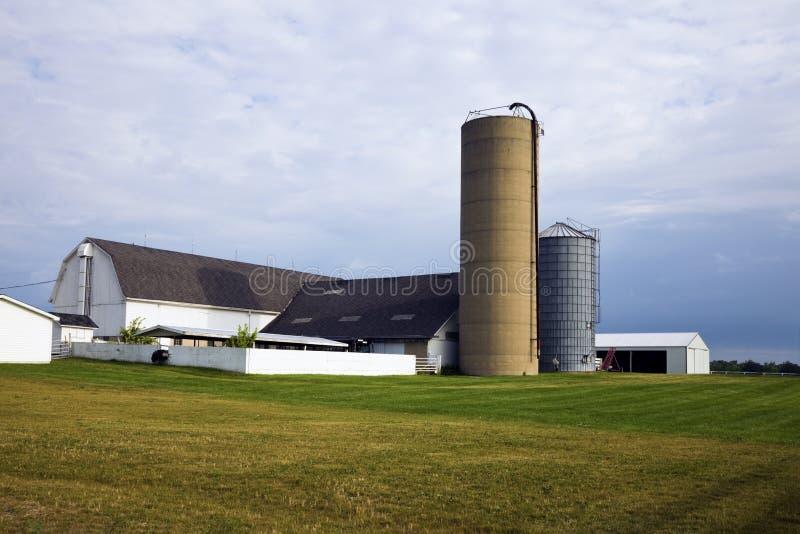 Azienda Agricola In Illinois Fotografia Stock
