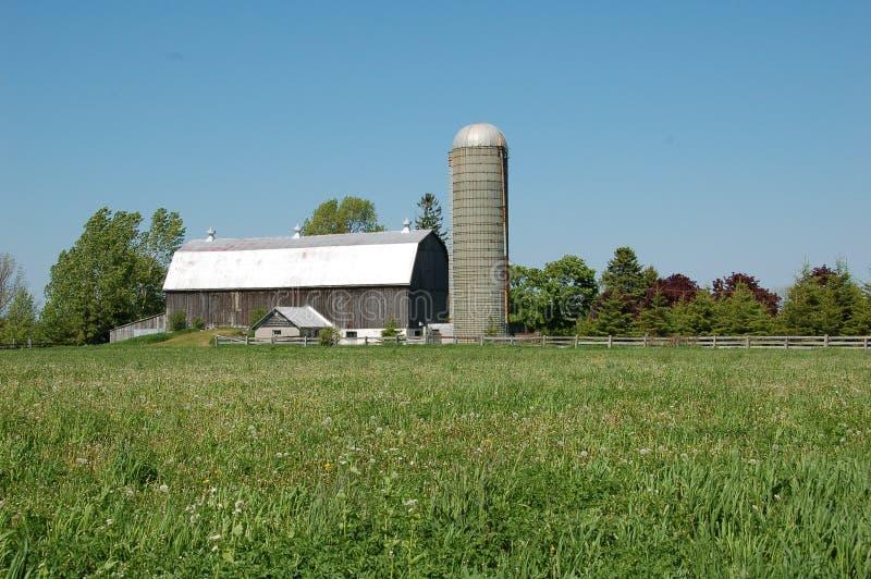 Azienda agricola rurale fotografia stock