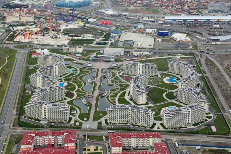 Azimut hotell Sochi 3 arkivbilder