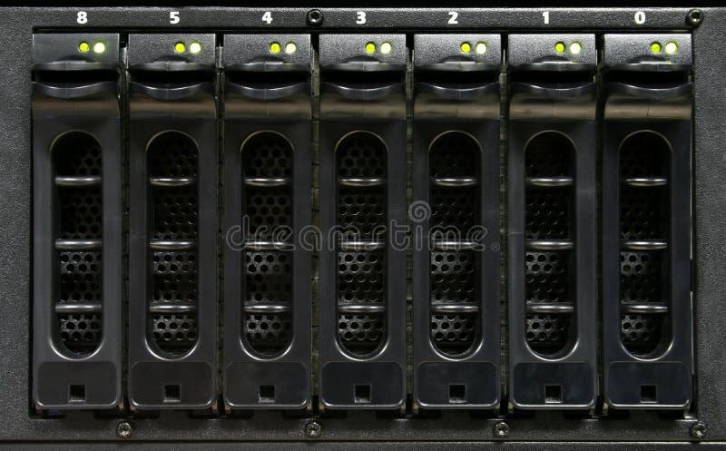 Azionamenti duri server/del calcolatore fotografie stock libere da diritti
