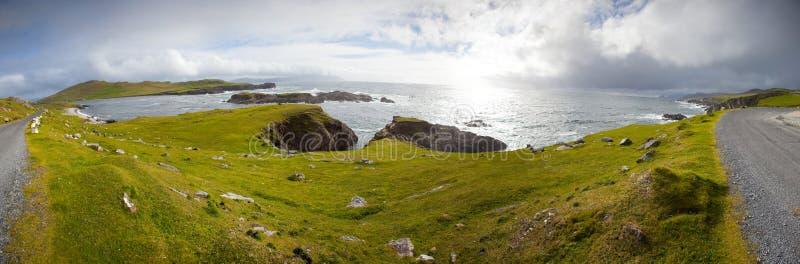 Azionamento atlantico, isola di Achill, Co Mayo, Irlanda immagine stock libera da diritti