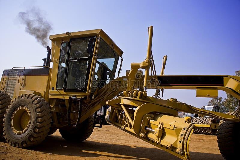 Azionamento del trattore a cingoli 140H immagine stock libera da diritti