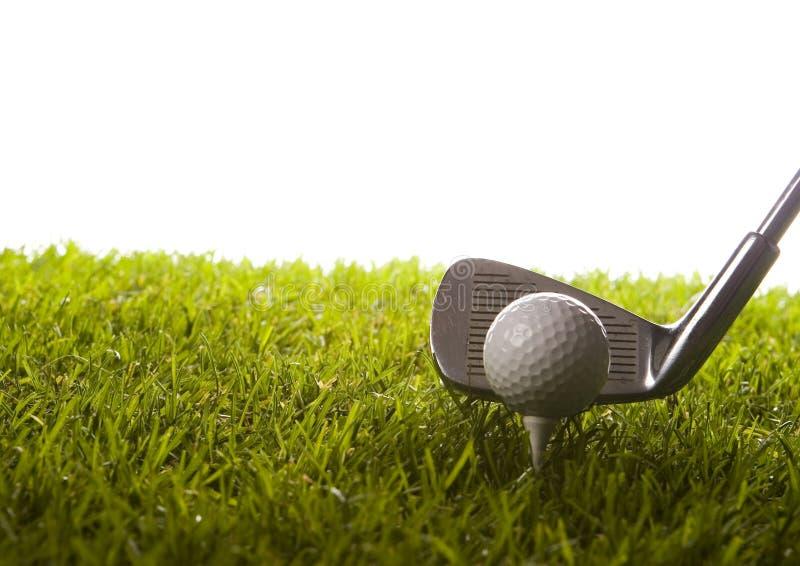 Download Azionamento di golf fotografia stock. Immagine di campione - 7317340
