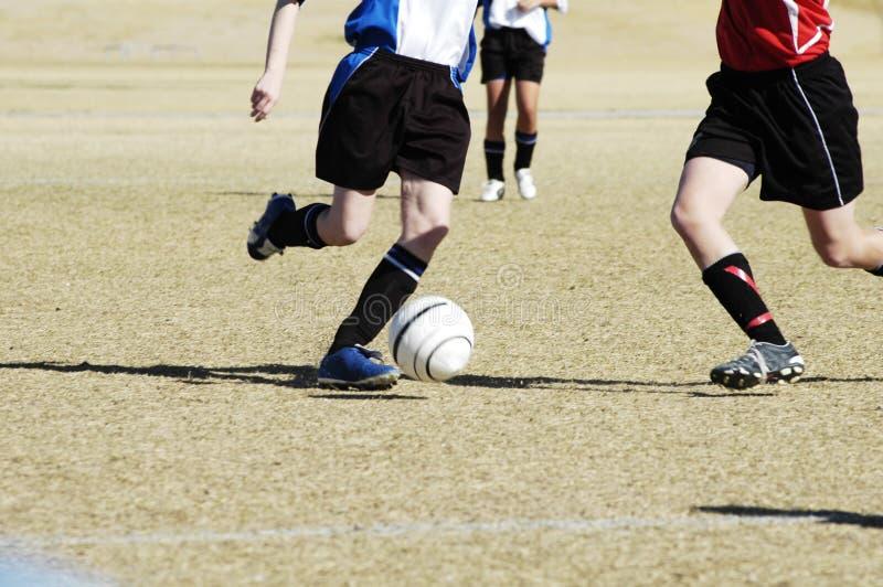 Azione 4. di calcio. fotografia stock libera da diritti
