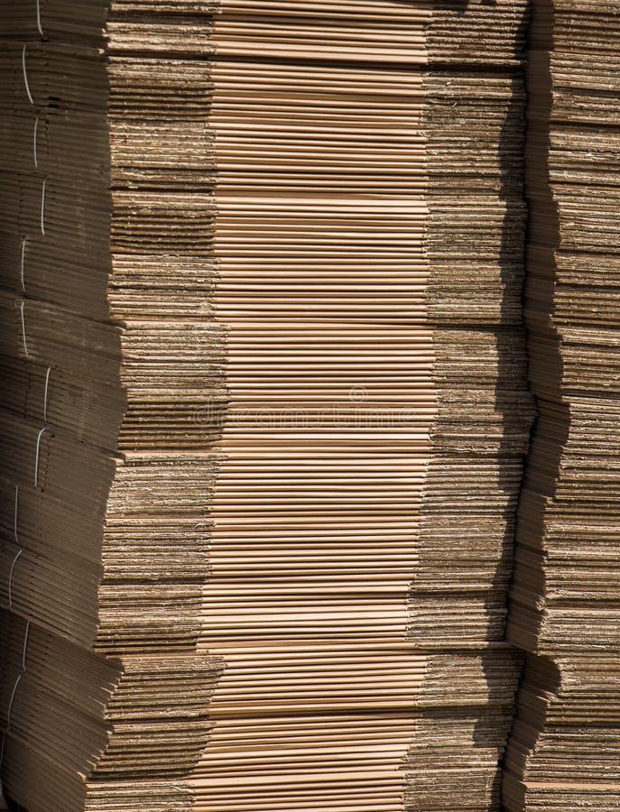 Azione del cartone di colore di Brown come fondo immagine stock libera da diritti