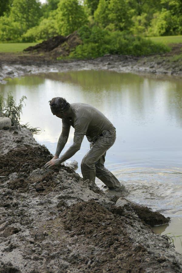 Azione del fango di Chuggars immagine stock