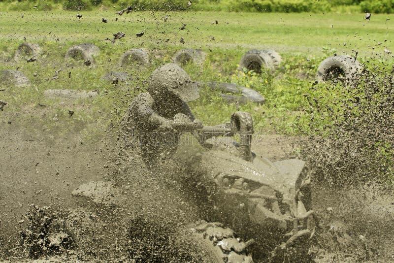 Azione del fango di Chuggars fotografie stock