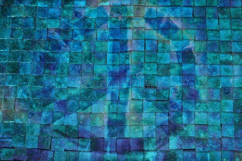 Azione del fondo delle mattonelle del vetro macchiato del ` di Glasser del ` [asciutte] fotografie stock