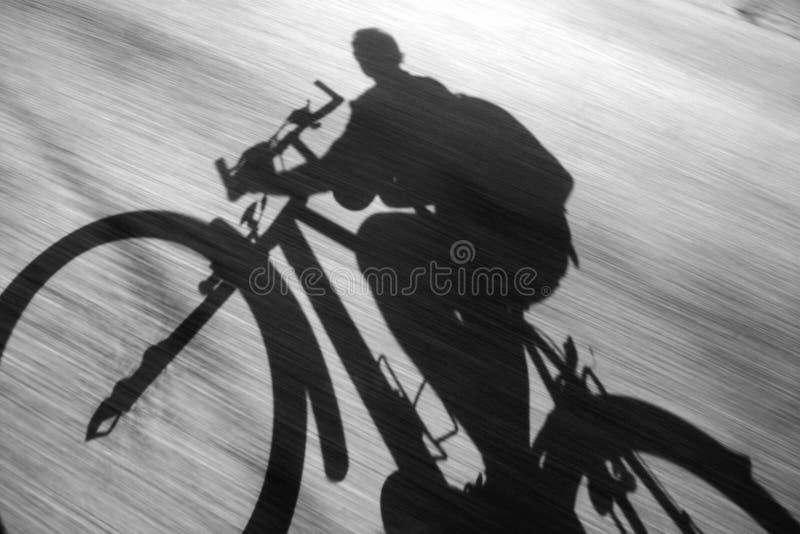 Azione della bici fotografia stock