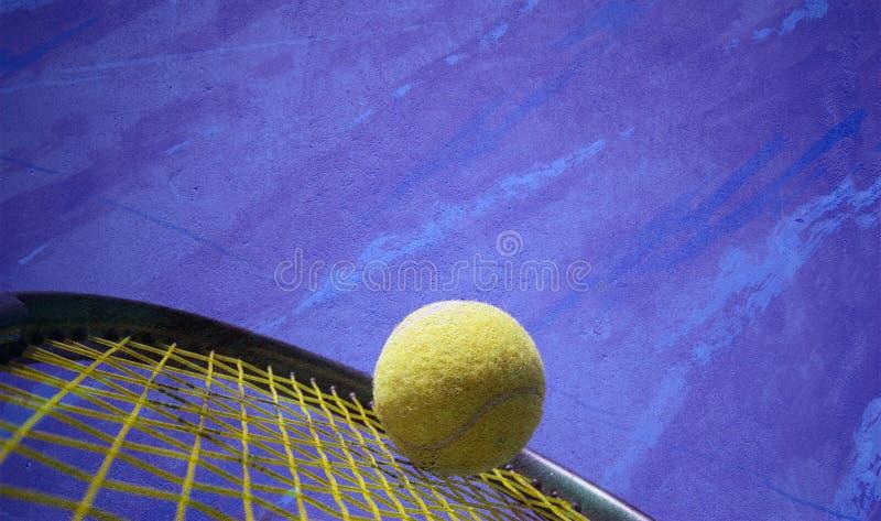 Azione di tennis fotografia stock