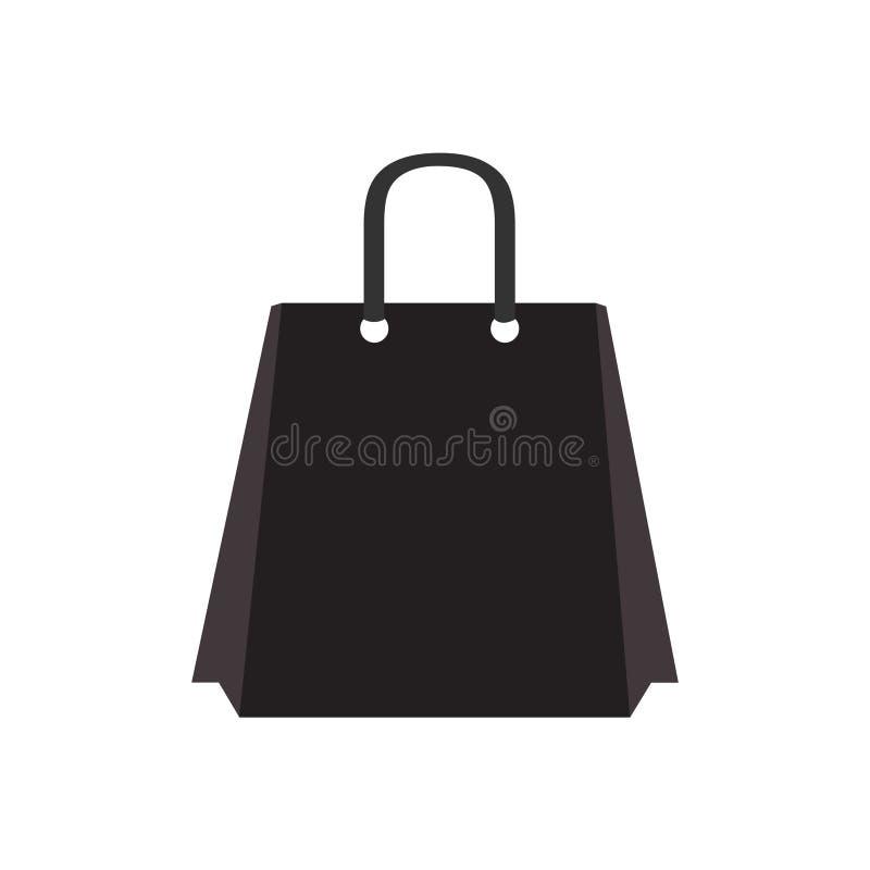 Azione di vettore del sacchetto della spesa Illustrazione di riserva di vettore del sacchetto della spesa illustrazione vettoriale