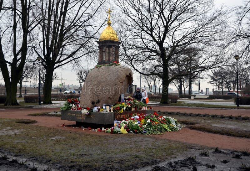 Azione in memoria di Boris Nemtsov immagine stock