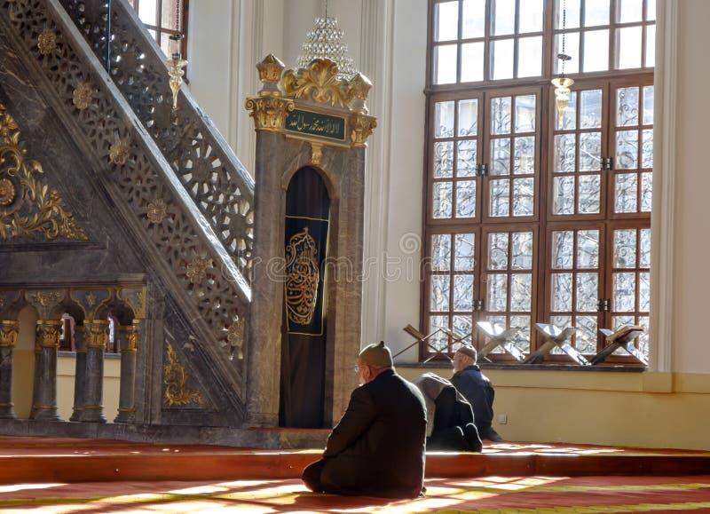 Aziziyemoskee in Konya, Turkije royalty-vrije stock foto's