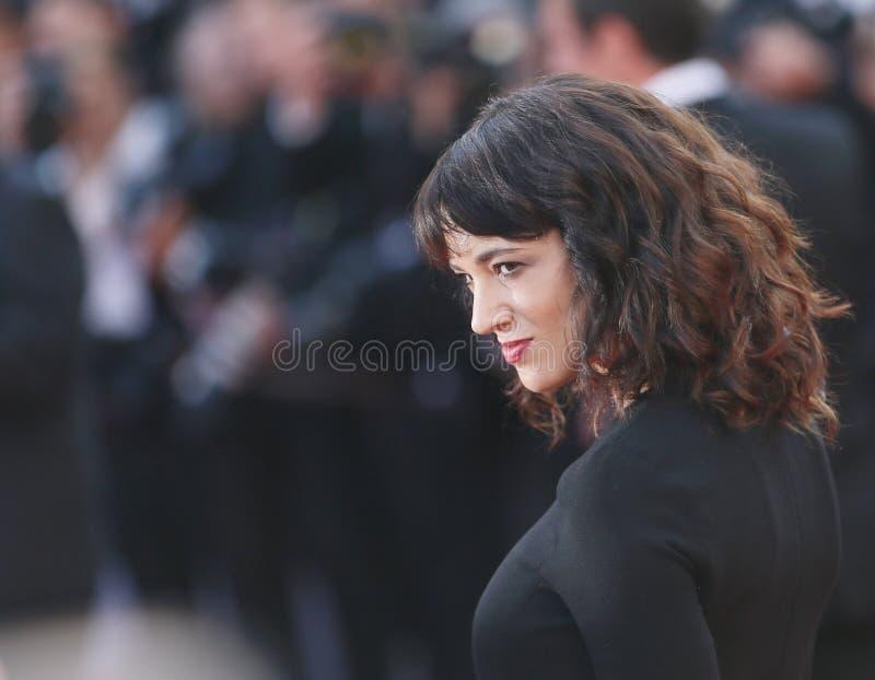 Azja Argento uczęszcza Końcową ceremonię zdjęcie royalty free